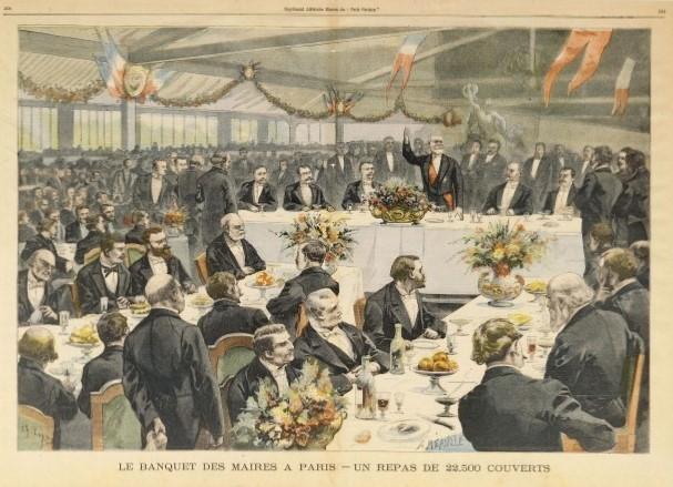 banquet-des-maires-en-1900